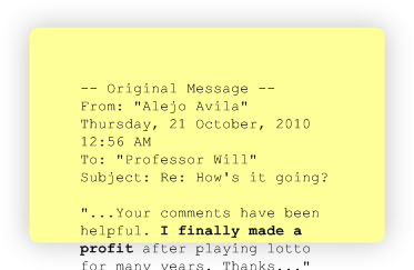 This is another authentic testimonial from an ordinary lotto player - the next one could be from YOU...